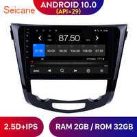 Seicane-Radio Multimedia con GPS para coche, Radio con reproductor, Android 10,0, cuatro núcleos, 10,1 pulgadas, navegador, para Nissan QashQai x-trail, años 2013 a 2015