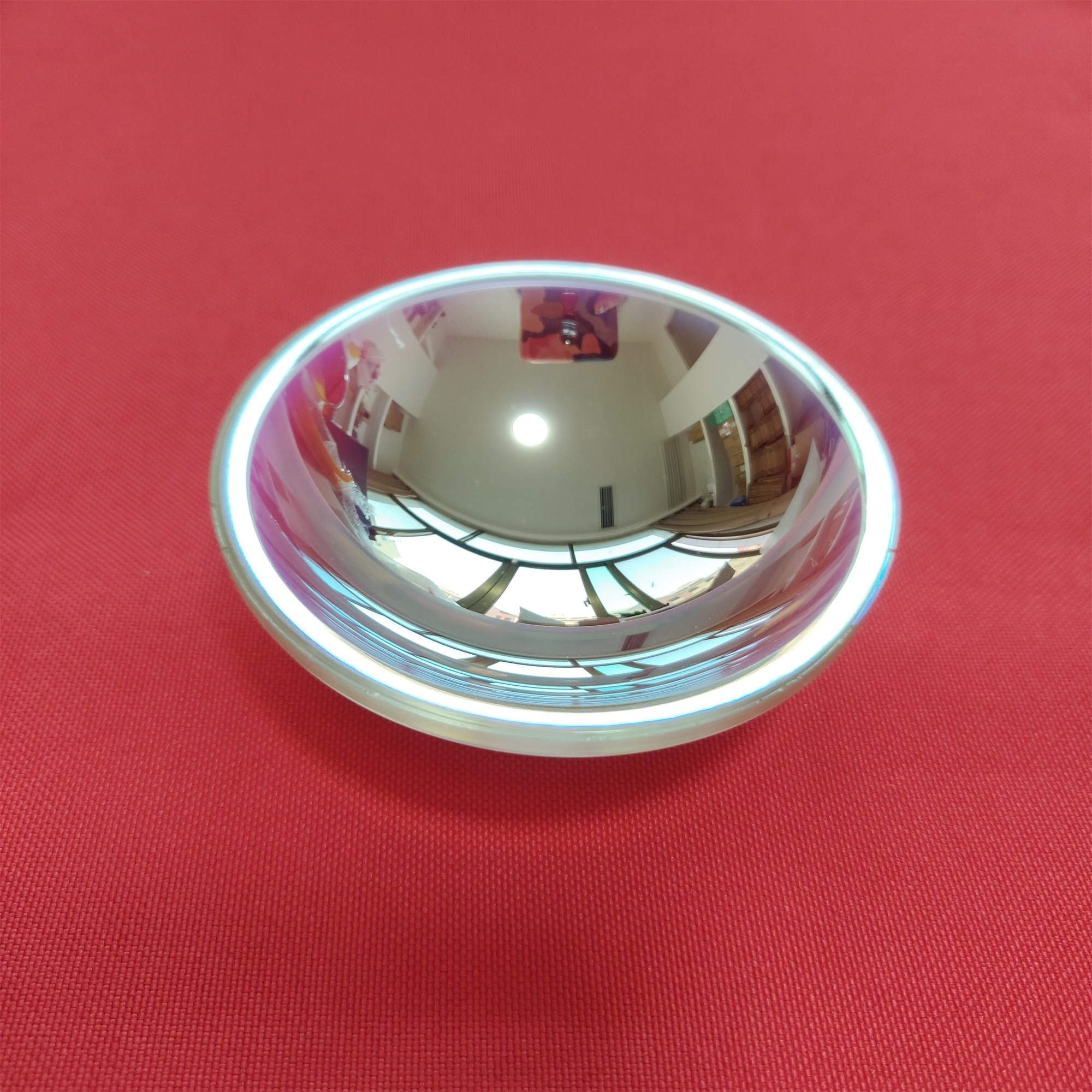 free shipping one piece DIY Projection kits parabolic reflector   projector reflective bowl 68mm