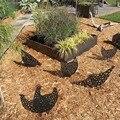 Декоративное пасхальное украшение для куриного двора, декоративное украшение для сада, куриного двора, 5 шт.