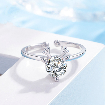 Crystal Elk Antler Ring 3