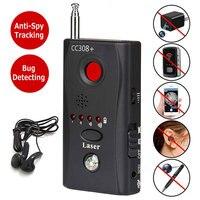 Mini Anti Spy Hidden Camera Detector CC308+ Anti Candid Espia Camera Wifi RF Laser Audio Signal Bug Spy Device GSM Device Finder|Anti Candid Camera Detector| |  -