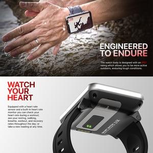 "Image 5 - 2.86 ""IPS HD מסך גדול 4G חכם שעון DM100 אנדרואיד 7.1 Smartwatch MTK6739 Quad Core 2700mAh סוללה 3GB 32GB Wifi GPS מצלמה"
