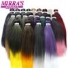 Mirra'S Mirror Pre Stretched Braiding Hair Ez Braid Hair Synthetic Crochet Braiding Hair Extensions 1