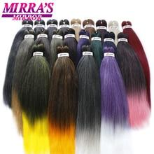 MirraS Mirror Pre Stretched Braiding Hair Ez Braid Hair Synthetic Crochet Braiding Hair Extensions