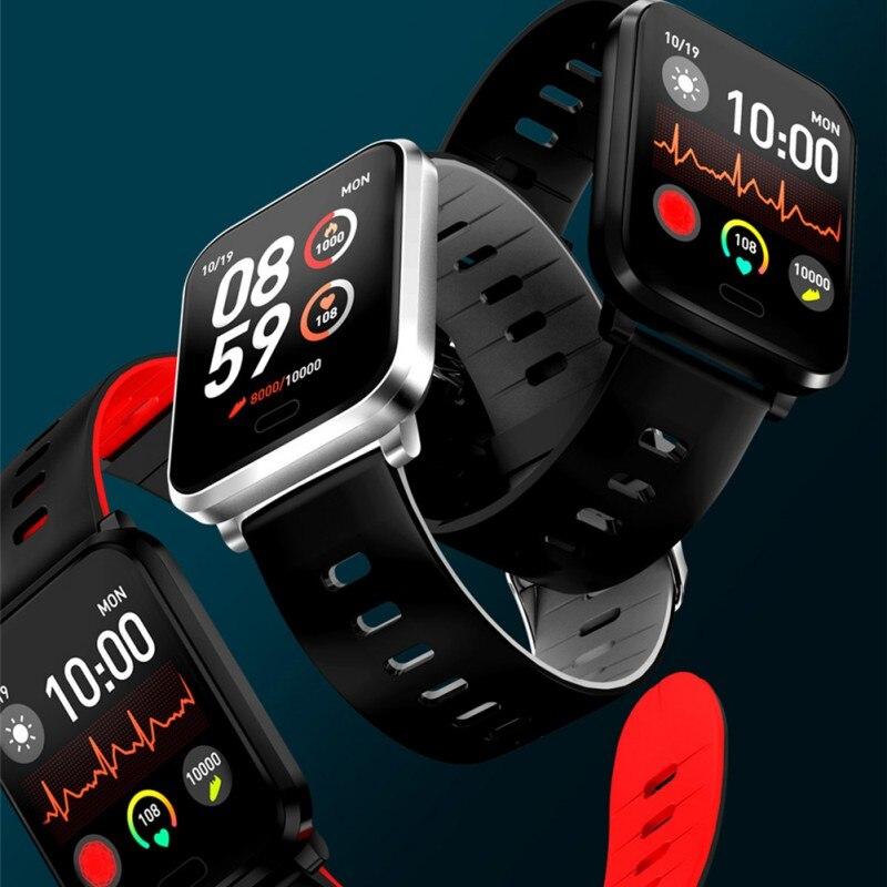 Купить с кэшбэком K10 Smart Wristband IP68 Waterproof Dustproof Heart Rate Monitor Blood Pressure Fitness Tracker Smart Bracelet Smart Watch
