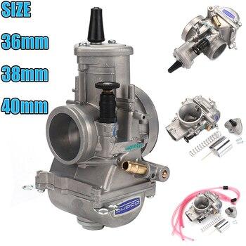 PWM 34 36 38 40 42 mm para Carburador Keihi, Carburador Universal, Karts 2T, motocicleta de carreras, Scooter ATV para 125 250 300 350 Carburador