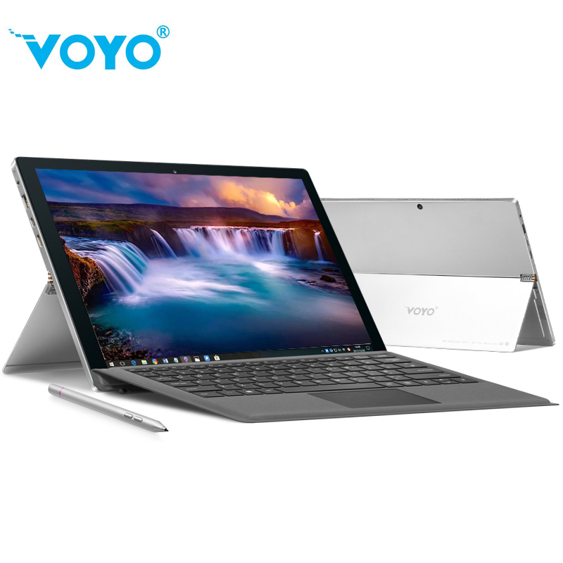 3865 VOYO VBOOK I7 12.6'' IPS 2880*1920 Windows 10 Tablet PC For Intel 7th Core I7 2.7-3.5GHz 8GB DDR 256GB SSD Tablet For Kids