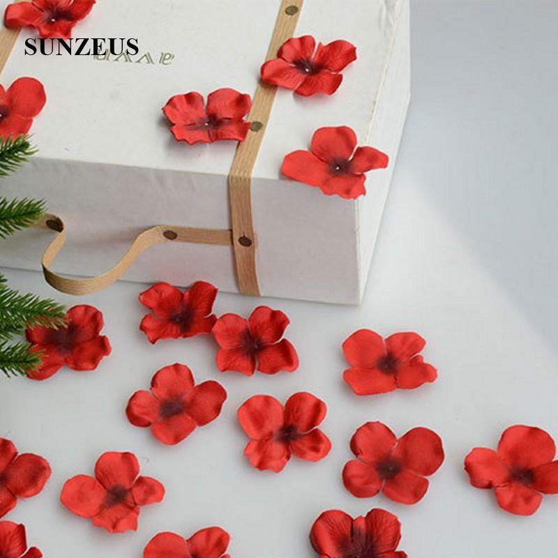4,5 см цветок девушка лепестки искусственные лепестки роз полиэстер ткань Свадебные лепестки вечерние украшения вечерние Цветы Аксессуары SJ007