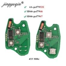 Carte de circuit imprimé de clé de voiture à distance 30x 2 / 3BTN pour Renault Duster Modus Clio 3 Twingo DACIA Logan Sandero 433 Mhz pcf7952E PCF7947 / 7946