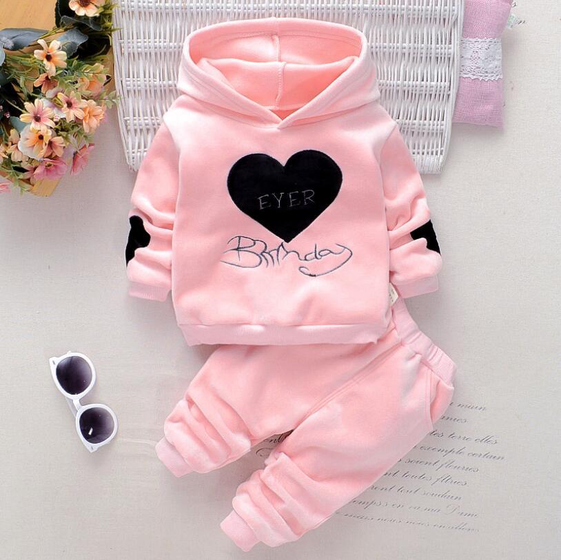 Conjunto de ropa con caricaturas para bebé, niño y niña, pantalones con capucha para niño, ropa deportiva, conjuntos de Navidad para recién nacido