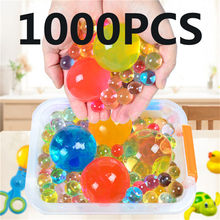 1000pcs/100 bags Large Hydrogel Pearl Big Crystal Soil Mud Mud Hydrogel Water Beads Mud Grow Ball for Wedding Home Decor(China)