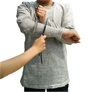 2020 Anti Stab Resistance Self Defense Covert Anti Cut Clothes For Security Anti Cut Tshirt Protection Itself Anti Cut T Shirt
