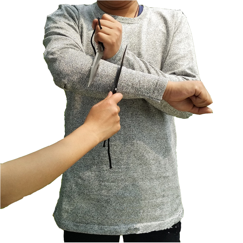 2020 anti stab resistencia auto defesa covert anti corte roupas para seguranca anti corte tshirt protecao