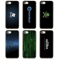 Linux Hacker Voor Iphone Ipod Touch 11 12 Pro 4 4S 5 5S Se 5C 6 6S 7 8 X Xr Xs Plus Max 2020 Silicone Skin Cover