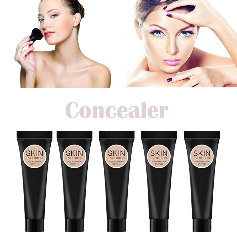 Zation Base Concealer Face Cosmetics High Quality Face Powder Foundation Long Lasting Cream Beauty Makeup Professional Matte