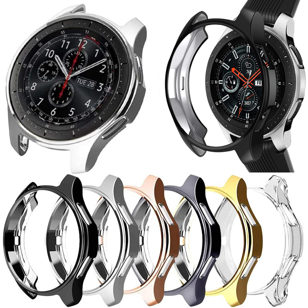 Case For Samsung Galaxy Watch 46mm 42mm/Gear S3 frontier plating TPU All-Around bumper smartwatch accessories protection cover