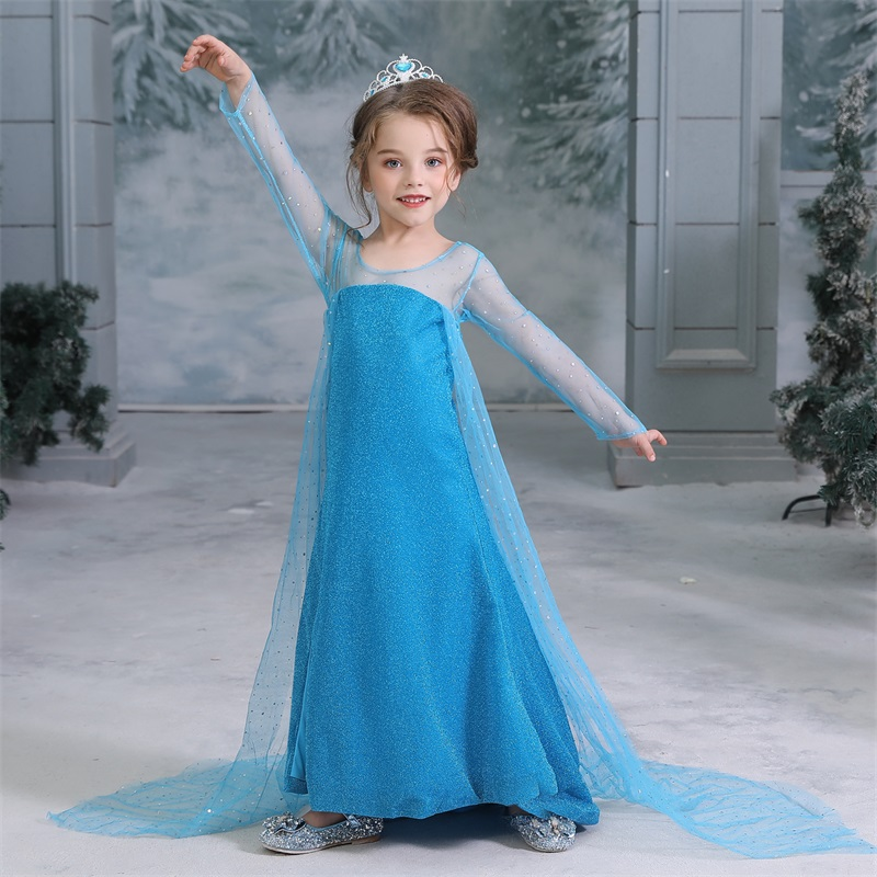 H2ff451c6592f4f99b8c06cdb0ea1b199F 2019 Children Girl Snow White Dress for Girls Prom Princess Dress Kids Baby Gifts Intant Party Clothes Fancy Teenager Clothing