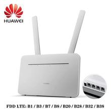 Huawei B535-232 4g 3 pro roteador lte 300mbps sma cat7 rota sem fio + antena par
