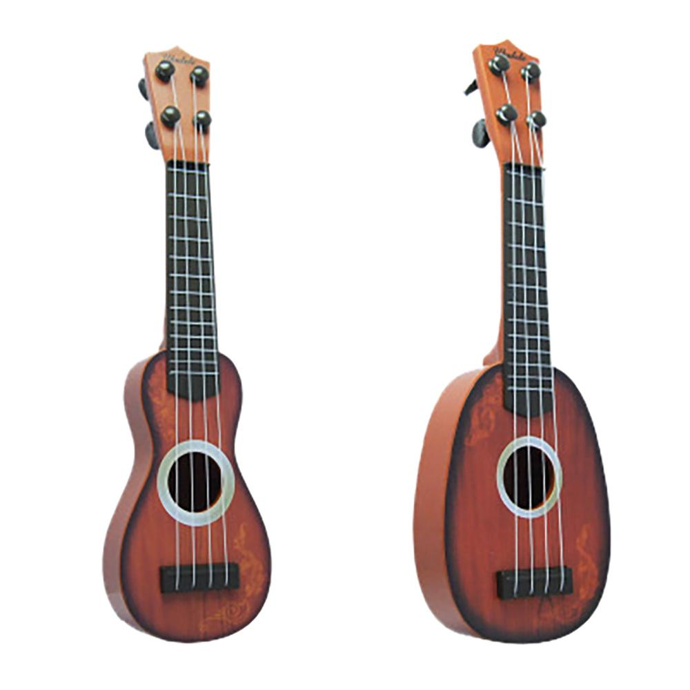 Mini Beginner Classical Ukulele Guitar 4 Carbon Nylon Strings Educational Musical Instrument Toy For Kids 2020 Hot Sale