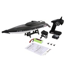 Feilun FT011 65cm 2.4G 2CH RC 55km/h High Speed Racing Boat Ship Speedboat with Water Cooling System Flipped Brushless Motor цена