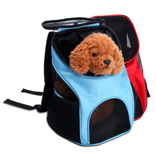 Pet Backpack Cat Dog Bag Accessories Mesh Breathable Chest Out Of The Shoulder