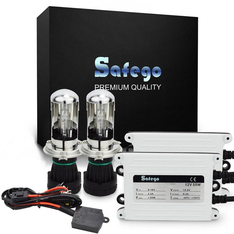 Ασφαλές AC 55W HID Bi Xenon Kit H4 Βολβοί - Φώτα αυτοκινήτων - Φωτογραφία 1