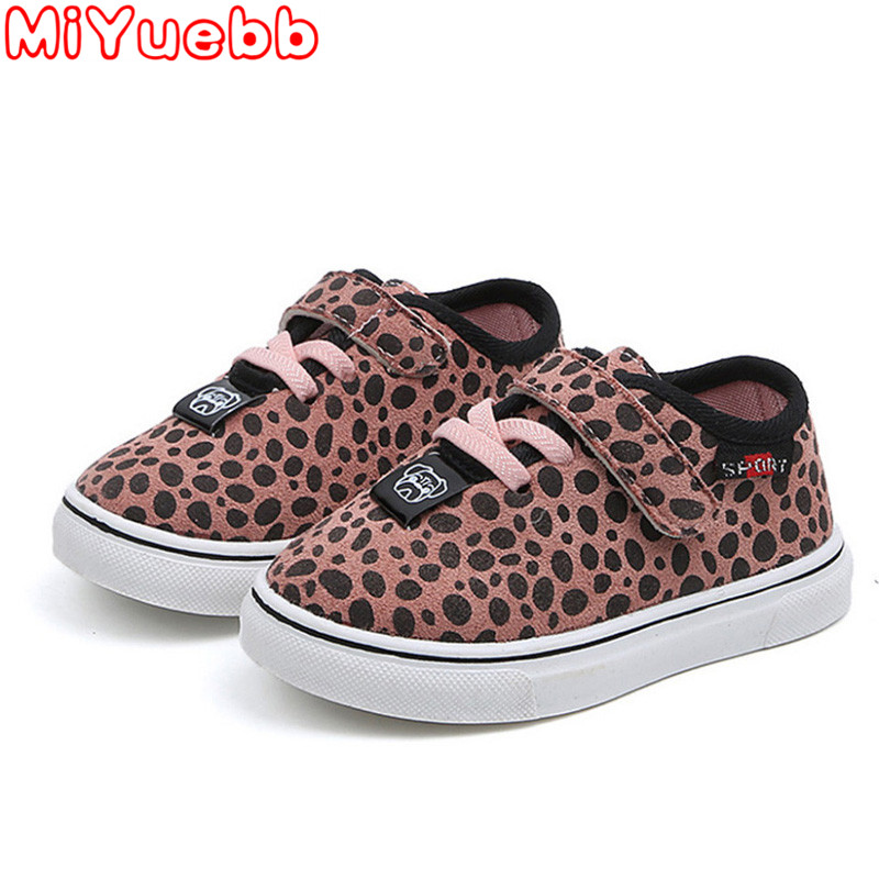 MiYuebb Children Light Shoe Kids Spring And Autumn New Leopard Dot Sneakers Leisure Micro Increase Canvas Sneaker 2020 New Shoes