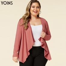 YOINS Women Coats&Jackets Elegant Open Front Long Sleeves Cardigan 2019 Autumn W