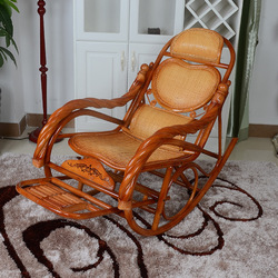 Furniture rocking chair lounge chair indoor and outdoor lounge chair nap lazy leisure leisure chair rattan chair rattan chair ro