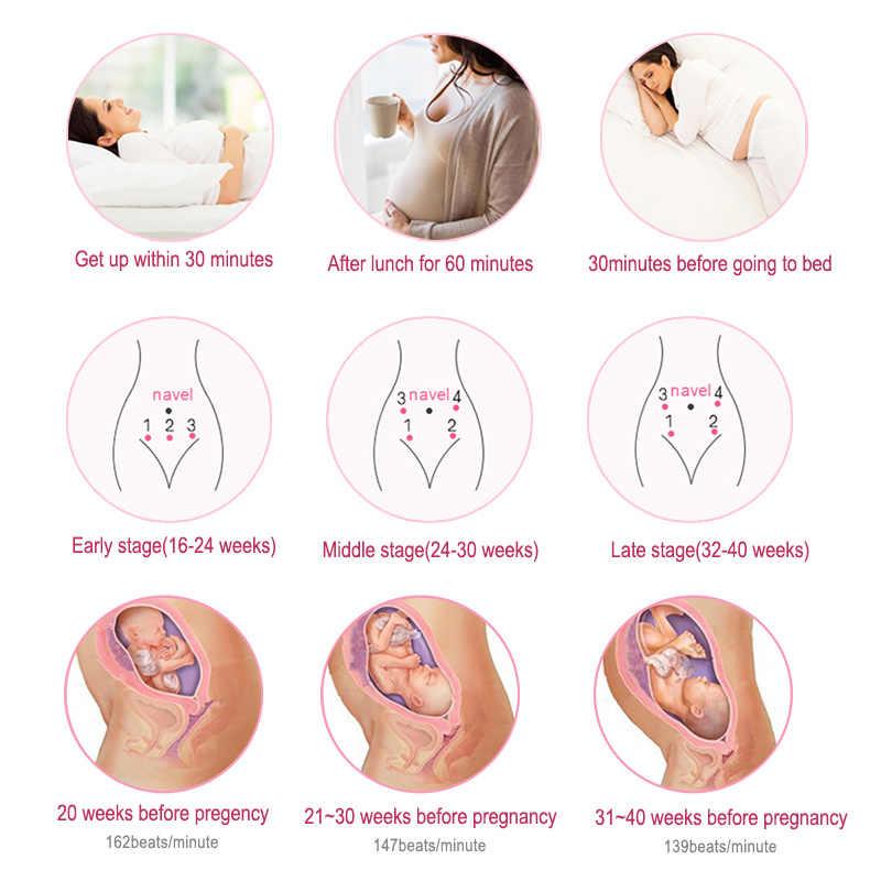 cofoe Doppler Thai phụ doppler Máy theo dõi nhịp tim không bức xạ Máy dò siêu âm thai nhi Hộ gia đình có thai Máy theo dõi tim Chăm sóc sức khỏe
