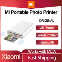 Xiaomi Mijia MI Kit Mini stampante fotografica tascabile portatile stampante Bluetooth stampante termica Wireless Bt Bluetooth per telefono cellulare