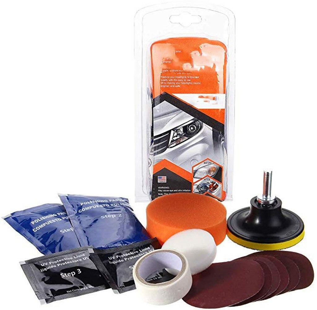 Car Bicycle Home Lamp Polishing Tool Headlight Polishing Kit Car Polish Eliminate Scratches Grinding Wheel Sanding Tools #N