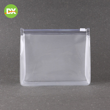 Transparent Pvc Bag Zipper Hot Pressed Cosmetic Waterproof Sample Storage Closet Organizer Beauty Kit