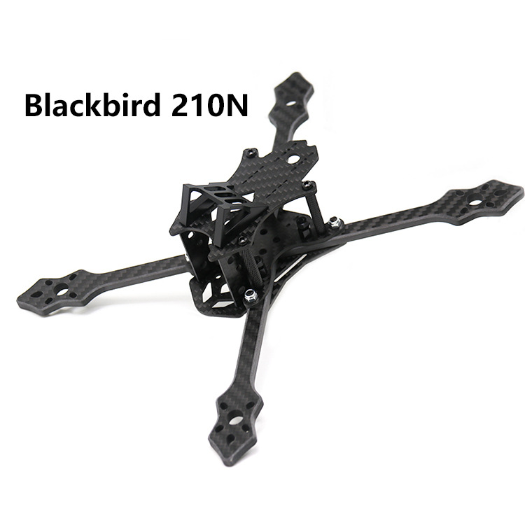 Are Jumping Through Machine Bracket Blackbird 210N 210 Size FPV Racing Unmanned Aerial Vehicle Carbon Fiber Four-axis Aerial Pho