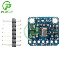 MPL3115A2 I2C Barometric Intelligent Temperature Pressure Measure Altitude Sensor Module