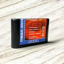 وحدة تحكم الألعاب Mega 6 Vol. 3, وحدة التحكم في ألعاب the hedgehog the الانتقام of shinobi)   EUR Label MD Card forSega Megadrive Game Console