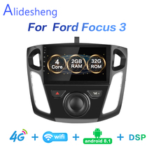 2G+ 32G DSP 2 din Android 8,1 4G сеть для автомобиля радио мультимедиа видео плеер для Ford Focus 3 2012 2013 Wi-Fi, BT