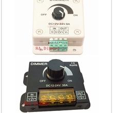 8A/30A светодиодный диммер постоянного тока 12V 24V 360W Регулируемый Яркость лампы накаливания Газа Драйвер один Цвет светильник Питание 5050 3528