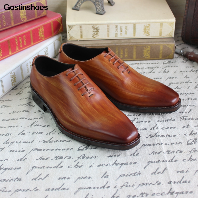 Goodyear Men Dress Shoes Leather Shoes