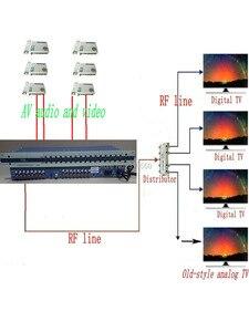Image 5 - 16 Way CATV modulator, interval channel, RF signal output, NTSC modulator,PAL B/G modulator,  PAL DK/I modulator for hotel