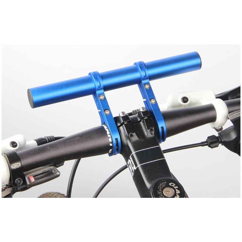 Bike Parts Handlebar Extension Mount Bicycle Bracket Extender Flashlight Holder
