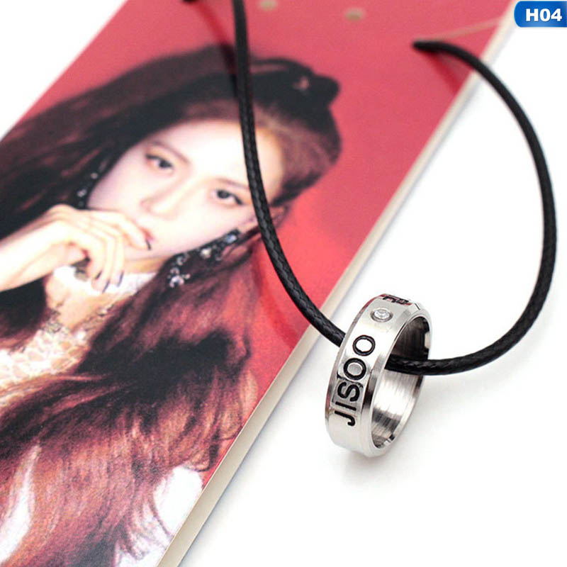 BlackPink Necklaces (All Idols)