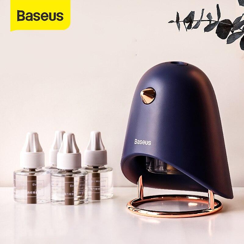 Baseus USB электрическая лампа убийца комаров портативный бытовой комаров лампа убийца насекомых милый Ночник светильник для спальни|Лампа от насекомых|   | АлиЭкспресс