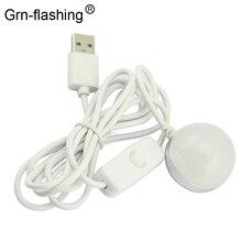 Taşınabilir Mini USB Powered LED Gece lambası Masa Kitap Okuma Tavan lambası Mıknatıs adsorpsiyon Kamp Acil Anahtarı Ile