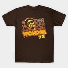 Hombres camiseta Stevie Wonder 73 camiseta mujer t camisa