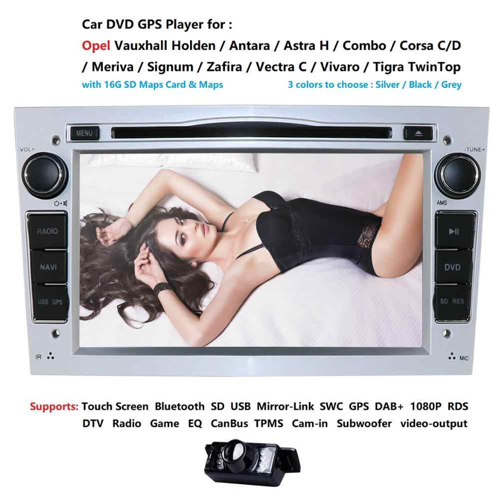 Wince 6,0 2 din автомобильный DVD стерео для Vauxhall Opel Astra H G Vectra Antara Zafira Corsa DVD Радио gps-навигатор 3colorDAB SWC BT CD карта