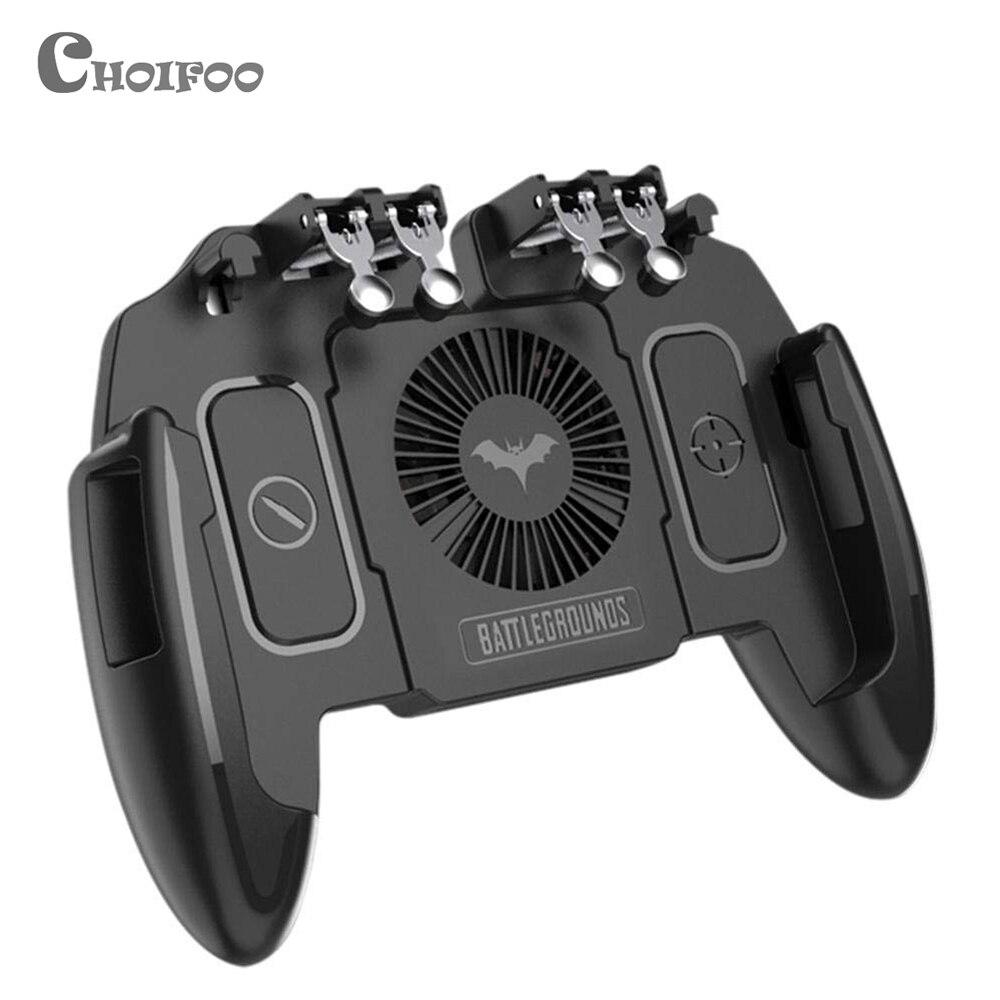 M10 PUBG мобильный контроллер геймпад с охлаждающим вентилятором для iOS Android Samsung Galaxy L2 R2 операционный джойстик кулер|Геймпады|   | АлиЭкспресс