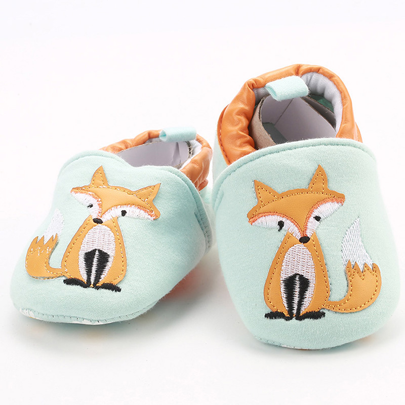 Fox Baby Slippers Girl Boys Winter Warm Slippers Cotton Children Home Shoes Kids Toddler Slippers Baby First Walkers