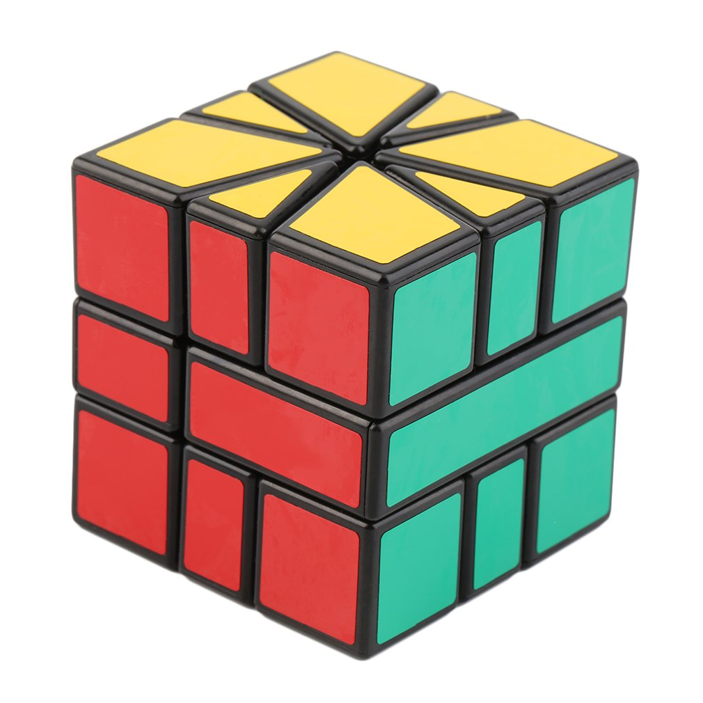 HOT Speed Super Square One SQ-1 Plastic Magic Cube   Puzzle Multicolor With Great Corner Cutting Easy & Smooth To Move