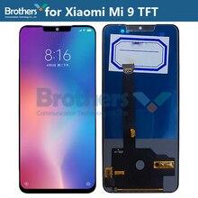 Wyświetlacz LCD dla Xiao mi 9 mi 9 montaż LCD dla Xiao mi 9 ekran LCD ekran dotykowy Digitizer wymiana telefon Test TFT ekran AAA